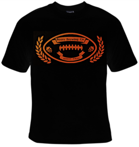 Bears Brewing Company Football T-Shirt Men's - Life Rush Apparel