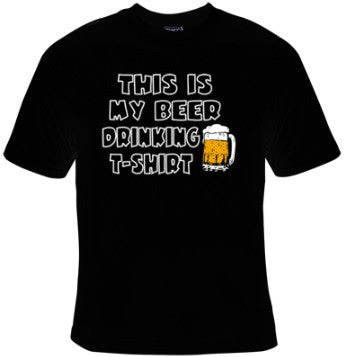 This Is My Beer Drinking T-Shirt - T-Shirt Women's - Life Rush Apparel