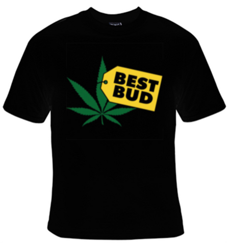 Best Bud T-Shirt Men's - Life Rush Apparel