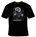 Black Bear Moon T-Shirt Men's - Life Rush Apparel
