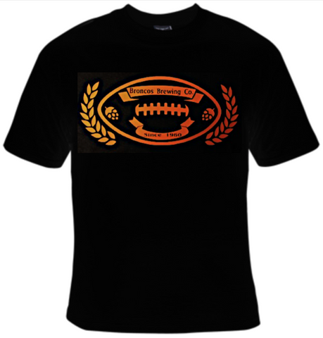 Broncos Brewing Company Football T-Shirt Women's - Life Rush Apparel