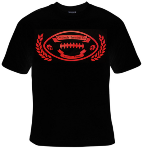 Cardinals Brewing Company Football T-Shirt Women's - Life Rush Apparel
