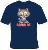 Cat Stressed Out T-Shirt Men's - Life Rush Apparel