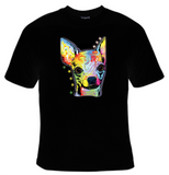 Chihuahua Neon T-Shirt Women's - Life Rush Apparel