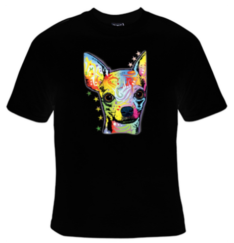 Chihuahua Neon T-Shirt Men's - Life Rush Apparel