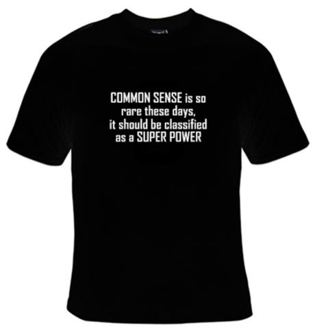 Common Sense Is So Rare T-Shirt Women's - Life Rush Apparel