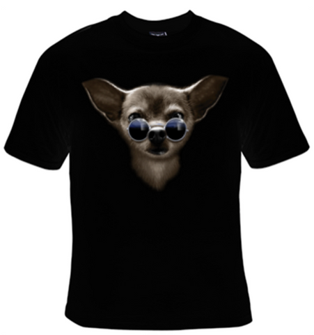 Cool Chihuahua T-Shirt Women's - Life Rush Apparel