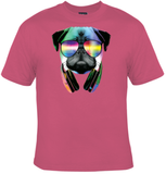 DJ Pug T-Shirt Women's - Life Rush Apparel