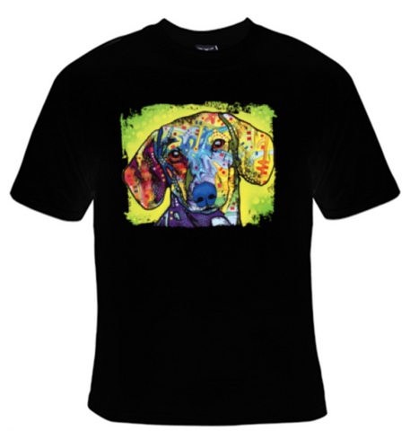 Dachsund Neon T-Shirt Men's - Life Rush Apparel