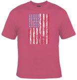 Distressed American Flag T-Shirt Women's - Life Rush Apparel