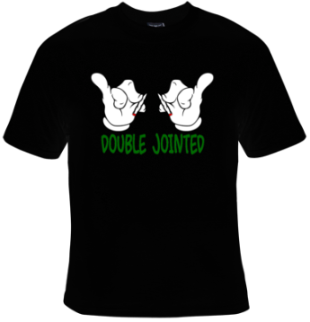Double Jointed Cartoon Hands T-Shirt Women's - Life Rush Apparel