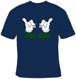 Double Jointed Cartoon Hands T-Shirt Men's - Life Rush Apparel