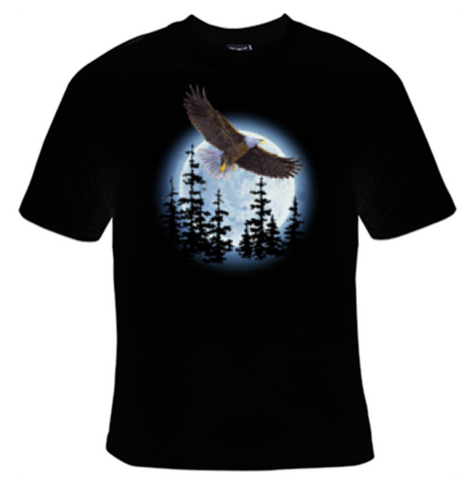 Eagle Moon T-Shirt Women's - Life Rush Apparel