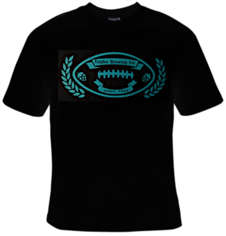 Eagles Brewing Company Football T-Shirt Women's - Life Rush Apparel
