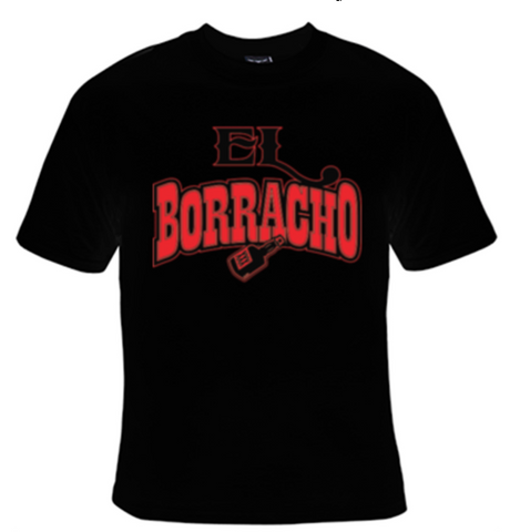 El Borracho T-Shirt Men's - Life Rush Apparel