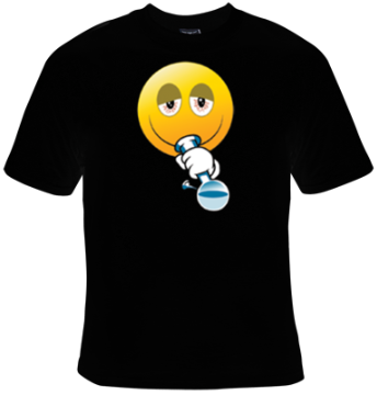 Emoji Smoking Bong T-Shirt Men's - Life Rush Apparel