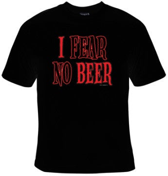 I Fear No Beer T-Shirt Women's - Life Rush Apparel