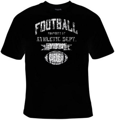 Football Property of Athletic Department T-Shirt Women's - Life Rush Apparel