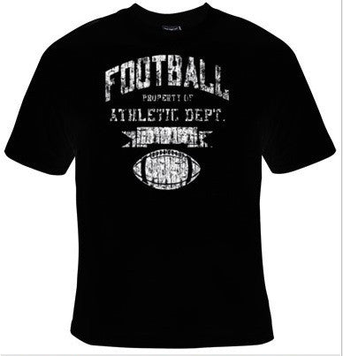 Football Property Of Athletic Department T-Shirt Men's - Life Rush Apparel