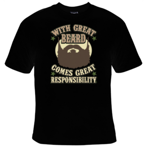 Great Beard T-Shirt Men's - Life Rush Apparel