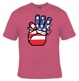 Hand Holding Joint USA T-Shirt Women's - Life Rush Apparel