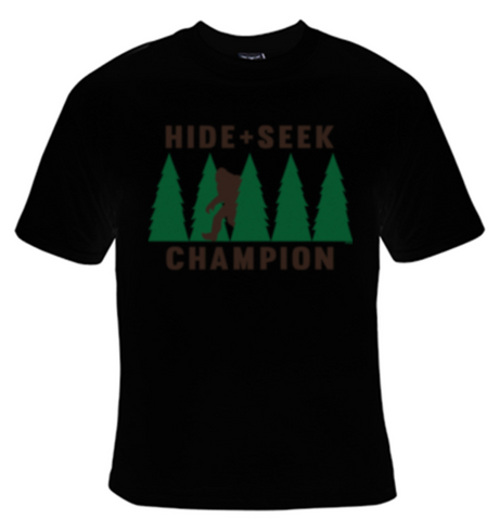Hide and Seek Champion Big Foot T-Shirt Men's - Life Rush Apparel