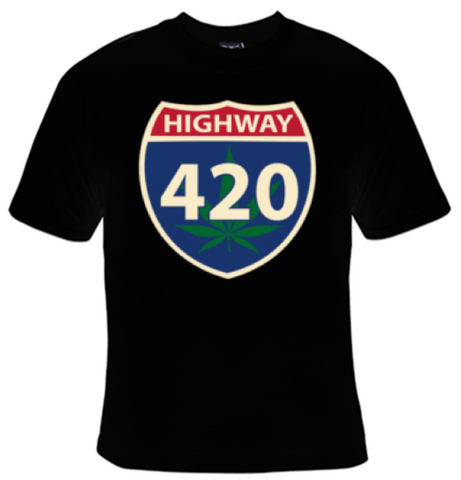Highway 420 T-Shirt Men's - Life Rush Apparel