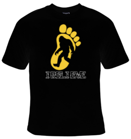 I Believe Big Foot T-Shirt Women's - Life Rush Apparel