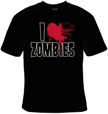 I Heart Zombies (I Love Zombies) T-Shirt Women's - Life Rush Apparel