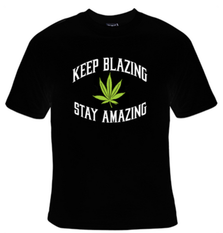 Keep Blazing Stay Amazing T-Shirt Women's - Life Rush Apparel