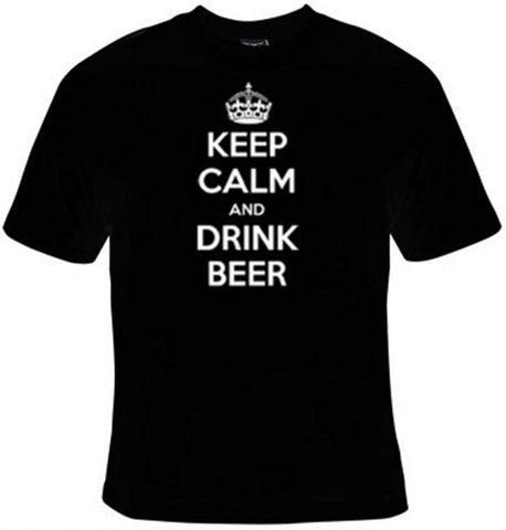 Keep Calm And Drink Beer T-Shirt Women's - Life Rush Apparel