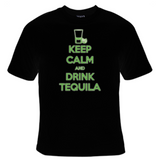 Keep Calm And Drink Tequila T-Shirt Women's - Life Rush Apparel