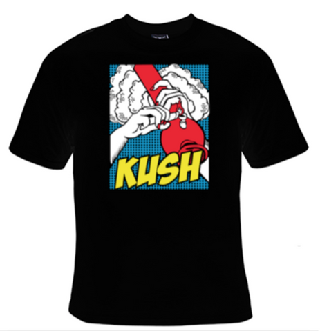 Kush T-Shirt Men's - Life Rush Apparel