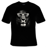 Lion Glasses T-Shirt Men's - Life Rush Apparel