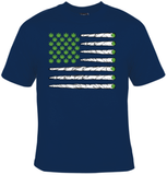 Marijuana Flag of Joints T-Shirt Men's - Life Rush Apparel