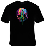 Melting Skull T-Shirt Women's - Life Rush Apparel