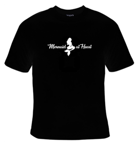 Mermaid At Heart T-Shirt Women's - Life Rush Apparel
