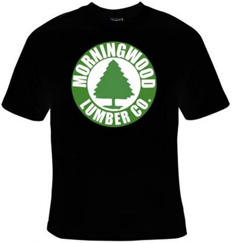 Morning Wood Lumber Company T-Shirt Women's - Life Rush Apparel