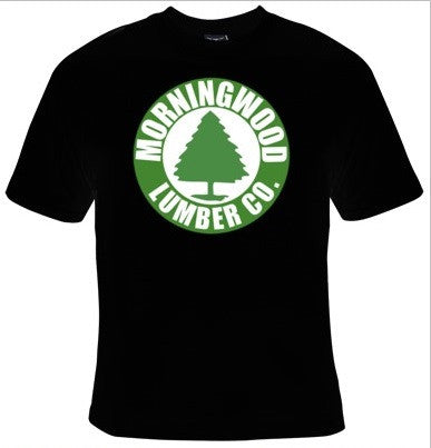 Morning Wood Lumber Company T-Shirt Men's - Life Rush Apparel