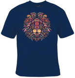 Lion Mosaic T-Shirt Men's - Life Rush Apparel