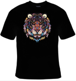 Tiger Mosaic T-Shirt Women's - Life Rush Apparel