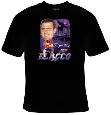 Joe Flacco Baltimore Ravens Football T-Shirt Men's - Life Rush Apparel