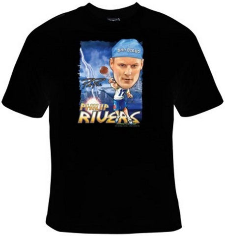 Philip Rivers San Diego Chargers Football T-Shirt Women's - Life Rush Apparel