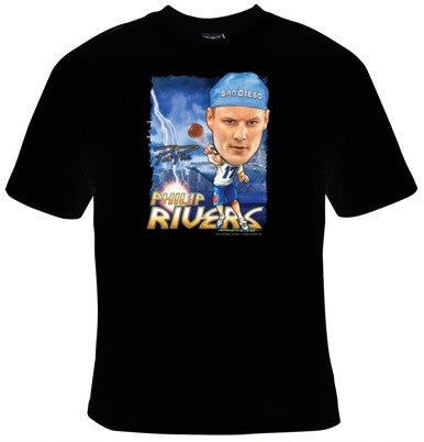 Philip Rivers San Diego Chargers Football T-Shirt Men's - Life Rush Apparel