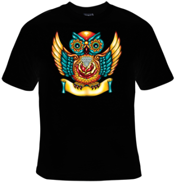 Owl T-Shirt Men's - Life Rush Apparel