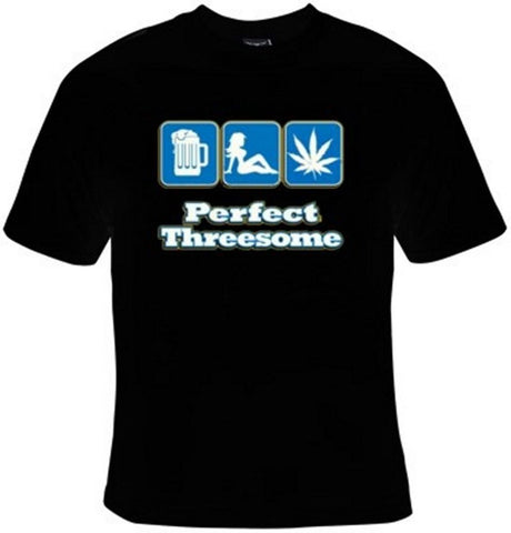 Perfect Threesome T-Shirt Women's - Life Rush Apparel