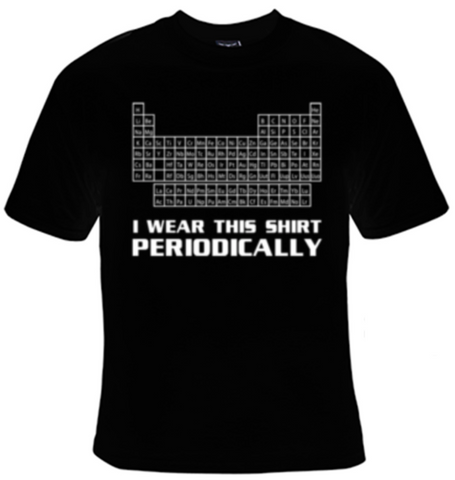 I Wear This Shirt Periodically T-Shirt Women's - Life Rush Apparel