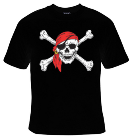 Pirate Skull T-Shirt Women's - Life Rush Apparel