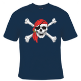 Pirate Skull T-Shirt Men's - Life Rush Apparel