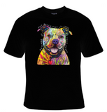 Beware of Pitbulls - They Will Steal Your Heart Neon T-Shirt Men's - Life Rush Apparel
